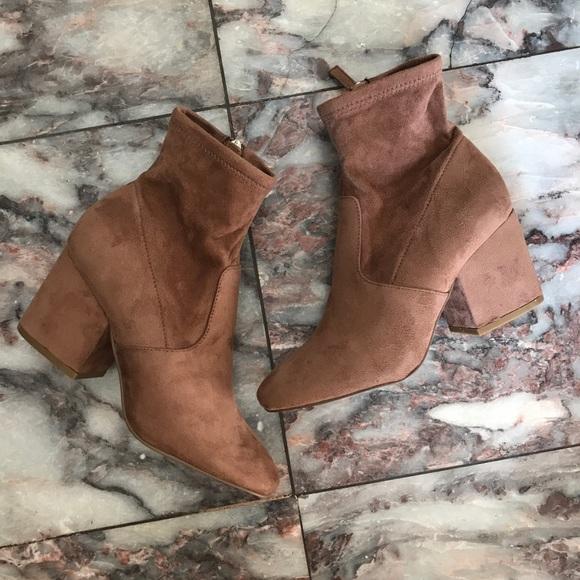 compre los más vendidos tan baratas llegando Steve Madden Shoes | Iberia Sock Booties Tan Size 6 | Poshmark